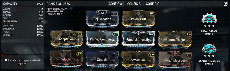 Trinity Profit Taker Build